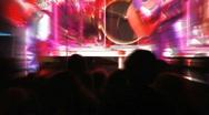 Rock Concert, Shaky 2 Stock Footage