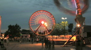 Carnival Time Lapse 2 Stock Footage