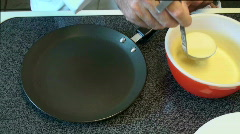 French crepes Stock Footage