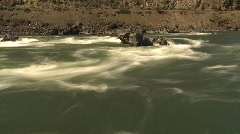Whitewater rapids, time lapse Stock Footage