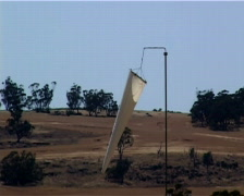 Windsock Australia Stock Footage