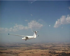 Glider Turns Stock Footage