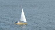 Sailboat Stock Footage