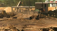Log mill montage, #3 Stock Footage