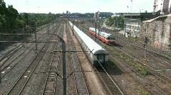 Helsinki trainstation  Stock Footage