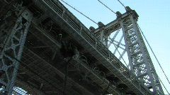 Stock Video Footage of Beauty – Under the Williamsburg Bridge