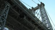 Beauty – Under the Williamsburg Bridge Stock Footage