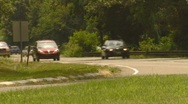 Cars on Highway Time Lapse Video Stock Footage