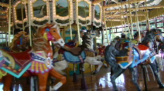 Classic Carousel 929-4 - stock footage