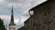Stock Video Footage of Tallinn church