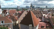 Stock Video Footage of Downtown Tallinn