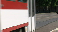 Tram Tallinn, Estonia Stock Footage