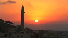 Nazareth mosque Stock Footage