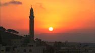 Nazareth mosque Stock Footage