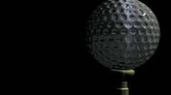Transition Golf Ball - stock footage