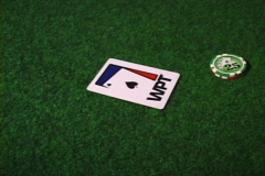 poker chips and cards - stock footage