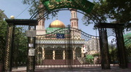 Stock Video Footage of xinjiang riots closed mosque