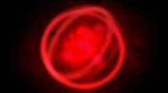 Seamless pulsing rotating futuristic loop Stock Footage