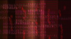 Seamless loop of numbers Stock Footage