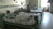 Stock Video Footage of xinjiang riots hospital wounded han