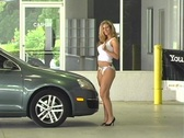 Stock Video Footage of Sexy Mechanic (5)