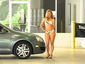 Stock Video Footage of Sexy Mechanic (6)