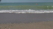Summertime at the beach Stock Footage