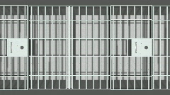 Jail cells background - stock footage