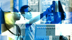 Medical situations footage Stock Footage