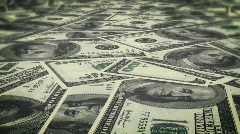 Depth of field Money  Stock Footage
