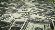 Stock Video Footage of Depth of field Money