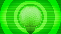 Golf looping background Stock Footage
