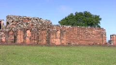Trinidad jesuit ruins 01 Stock Footage