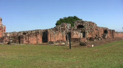 Trinidad jesuit ruins 02 Stock Footage