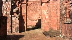 Trinidad jesuit ruins 05 Stock Footage