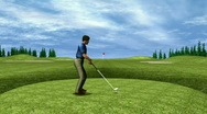 Stock Video Footage of Golfer Sequence HD1080