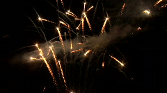 Fireworks Slow Mo HD - stock footage