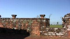 Trinidad jesuit ruins 11 Stock Footage