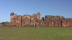 Trinidad jesuit ruins 13 Stock Footage