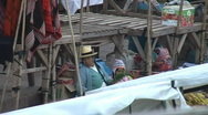 Stock Video Footage of Sunday market in Pisac