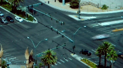 Las Vegas Traffic 760 Stock Footage