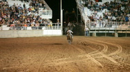 Stock Video Footage of Rodeo woman barrel racing P HD 1129