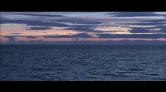 Ocean Sky Stock Footage