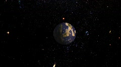 Planet Indonesia NASA BG Stock Footage