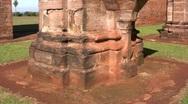 Tavarangue jesuit ruins 08 Stock Footage