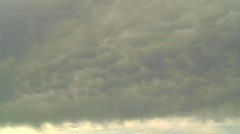 Weather, Mammary clouds timelapse Stock Footage