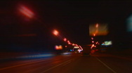 Night city Moscow  Stock Footage