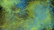 Paint splatters - digital animation Stock Footage