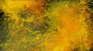 Vivid paint splatters - digital animation Stock Footage