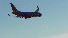 Stock Video Footage of Airplane Landing on Runway HD